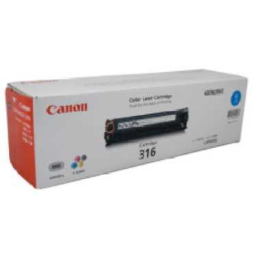 Canon 316C Toner Cartridge - Blue
