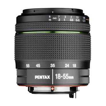 Pentax K-Mount SMC DA 18-55mm F/3.5-5.6 AL Zoom Lens - Black