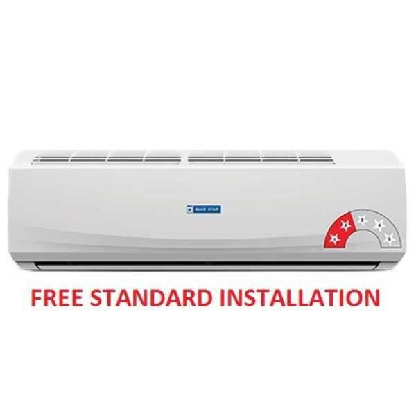 Blue Star 2HW18RCTX 1.5 Ton 2 Star Split Air Conditioner - Blue