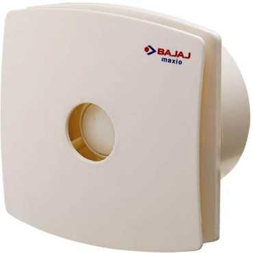 Bajaj Maxio 3 Blade (100mm) Bianco Dom Exhaust Fan - Red