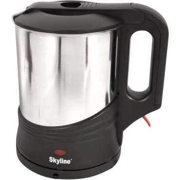 Skyline VTL-5005 1.2 Litre Electric Kettle - Steel | Black | Grey