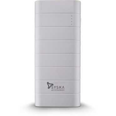 Syska Power Boost 100 10000mAh Power Bank - White