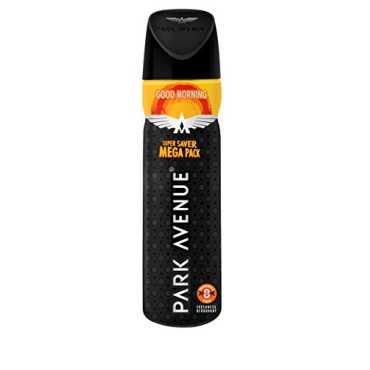 Park Avenue Good Morning Deodorant (Super Saver Mega Pack) - Blue