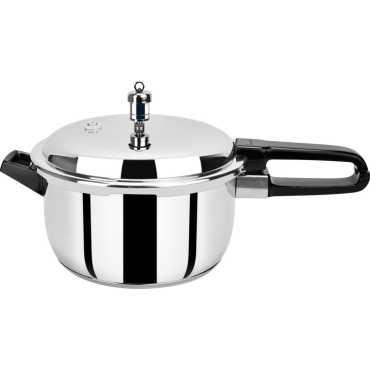Pristine Spc5 Stainless Steel 5 L Pressure Cooker - Steel | Silver