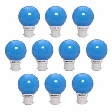 NOVATEK GREEN 0.5W LED Bulbs (Blue, Pack of 10) - Blue