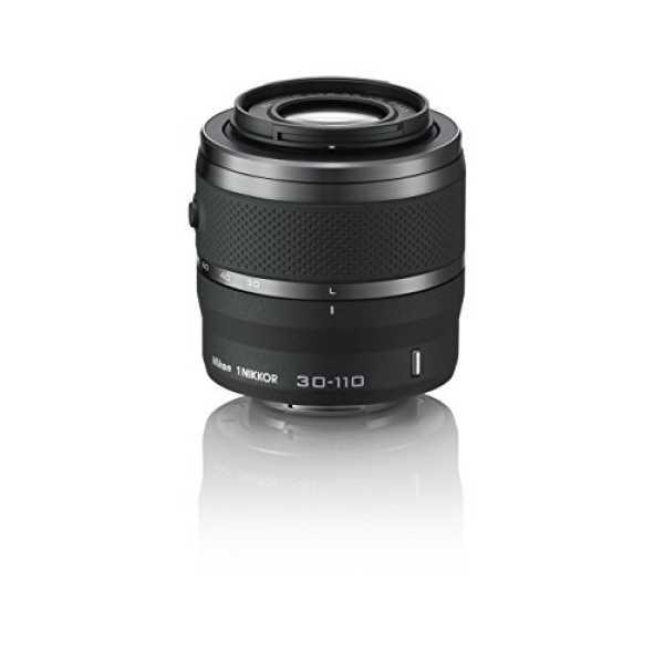 Nikon 1 Nikkor VR 30-110mm f/3.8-5.6 Lens - Black