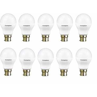 Crompton 7W LED Bulb (White, Pack of 10) - White