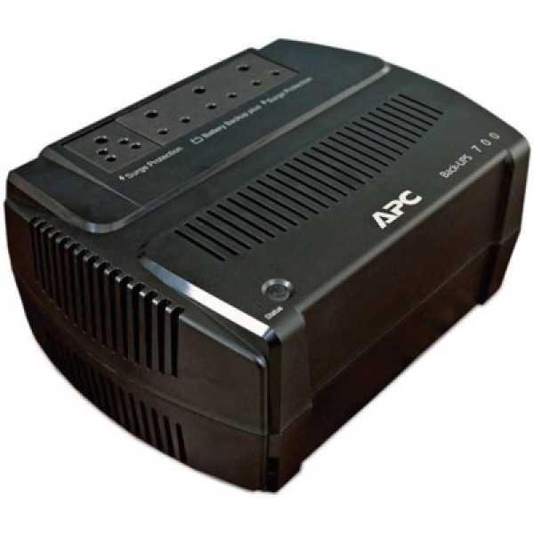 APC BE700Y-IN 700VA Backup Power Supply - Black