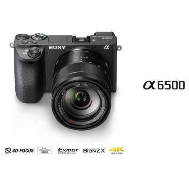 Sony Alpha A6500 Mirrorless Camera (Body Only) - Black