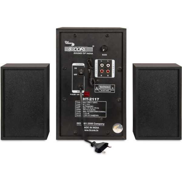 5 Core 2117 HiFi Speaker System - Black