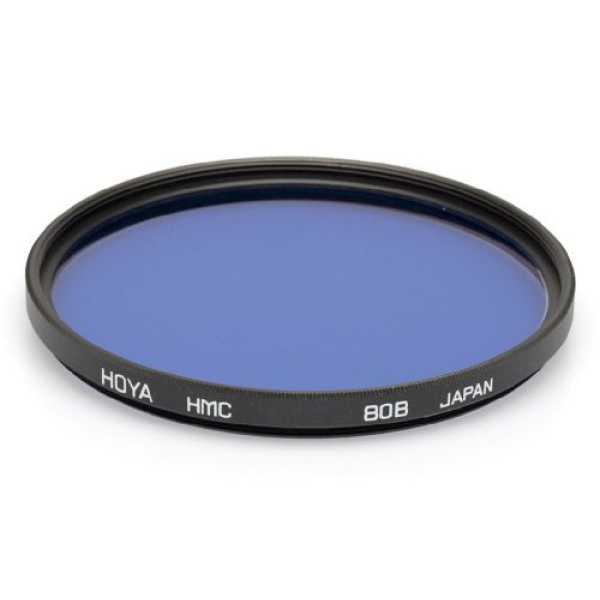 Hoya 55mm 80B Filter