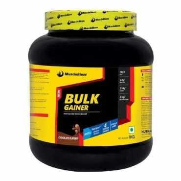 MuscleBlaze Bulk Gainer (1kg, Chocolate) - Brown