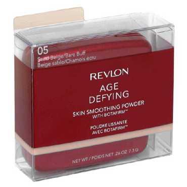 Revlon Age Defying Skin Smoothing Powder with Botafirm (Sand Beige , Bare Buff 05) - Beige
