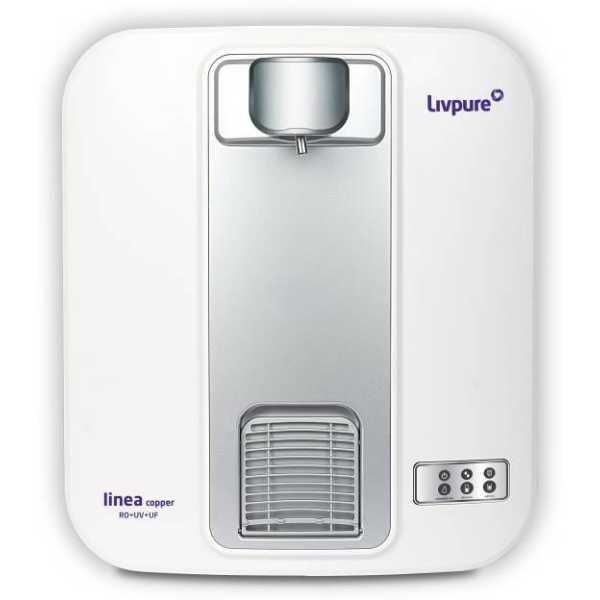 Livpure Linea Copper 5L RO UV UF Water Purifier