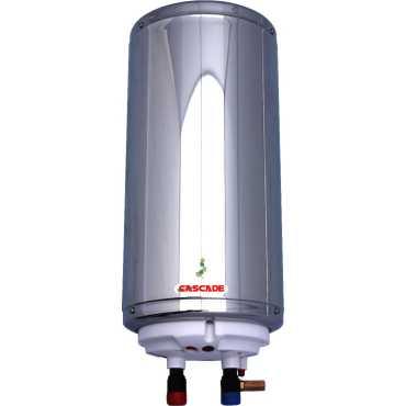 Cascade Shower 6 Litres 3KW Instant Water Geyser - Silver | Steel