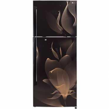 LG GL-I472QTMX 420L 4 Star  Double Door Refrigerator (Twilight Magic) - Brown