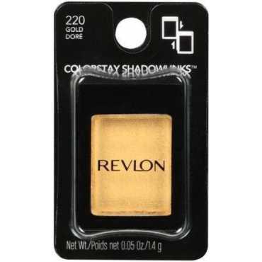Revlon Colorstay Shadowlinks Metallic Eye Shadow (220 Gold) - Gold
