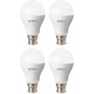 Surya 14W B22 1260L LED Bulb White Pack Of 4