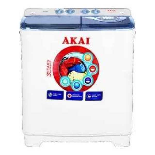 Akai 8.5 Kg Semi Automatic Top Load Washing Machine (AKSW-8503BY)
