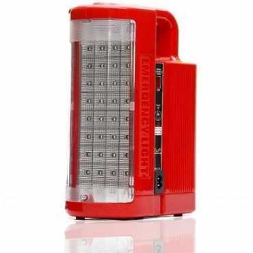 Enwalk Brighto 125(4V) Emergency Light - Red