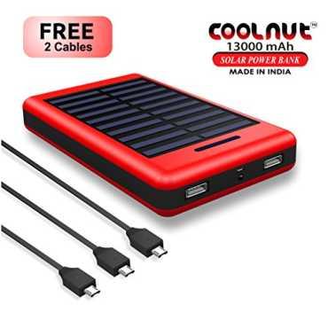 Coolnut CMSPBS-19 13000mAh Solar Power Bank