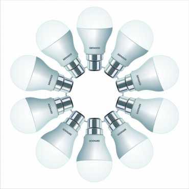 Simoco 7W LED Bulb (White, Pack of 10) - White