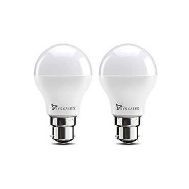 Syska SSK-SRL-7W 7W B22 LED Bulb (White, Pack of 2)