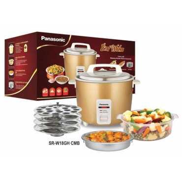 Panasonic SR-W18GH 4.4 L Electric Rice Cooker - Golden