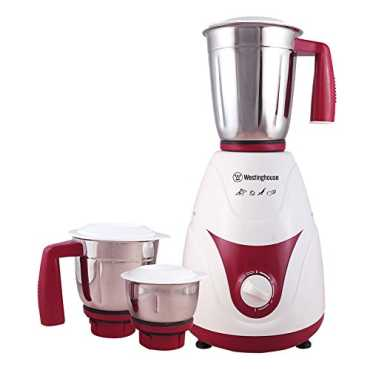 Westinghouse MX75WM3A-DR 750W Mixer Grinder (3 Jar) - White