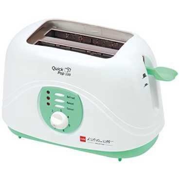 Cello Quick Pop 100 800W Pop Up Toaster - White