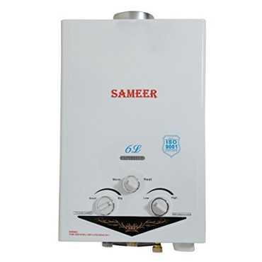 Sameer SAL10 6L Gas Geyser - White