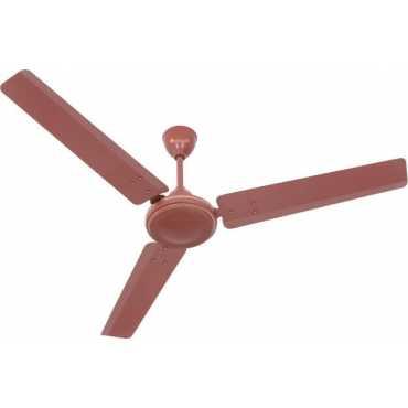 Venus Vector 3 Blade (900mm) Ceiling Fan - Brown