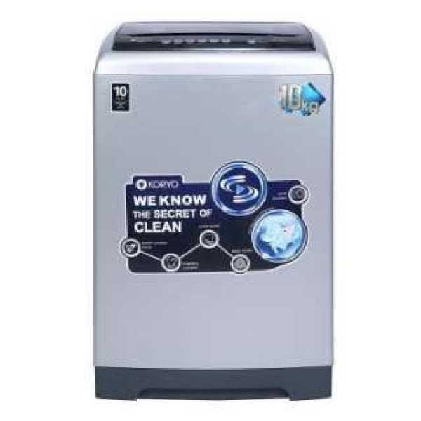 Koryo 10 Kg Fully Automatic Top Load Washing Machine (KWM1000TL)