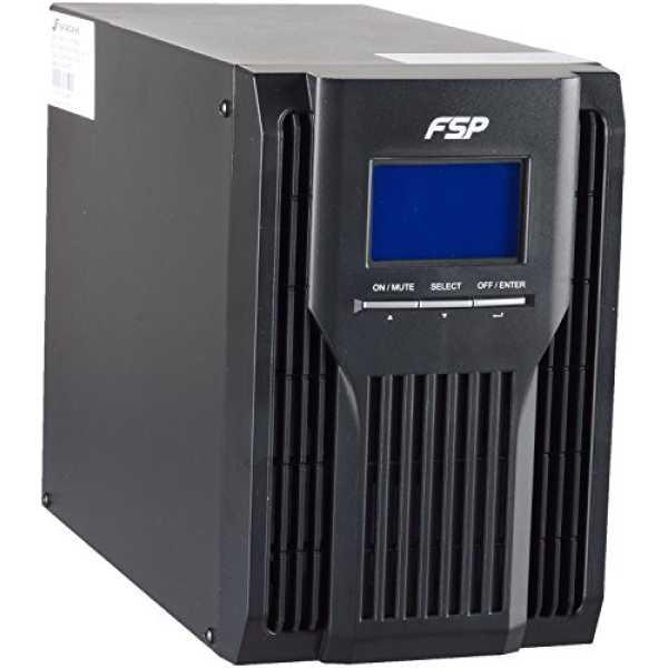 FSP Champ 1 KVA UPS - Black With Display