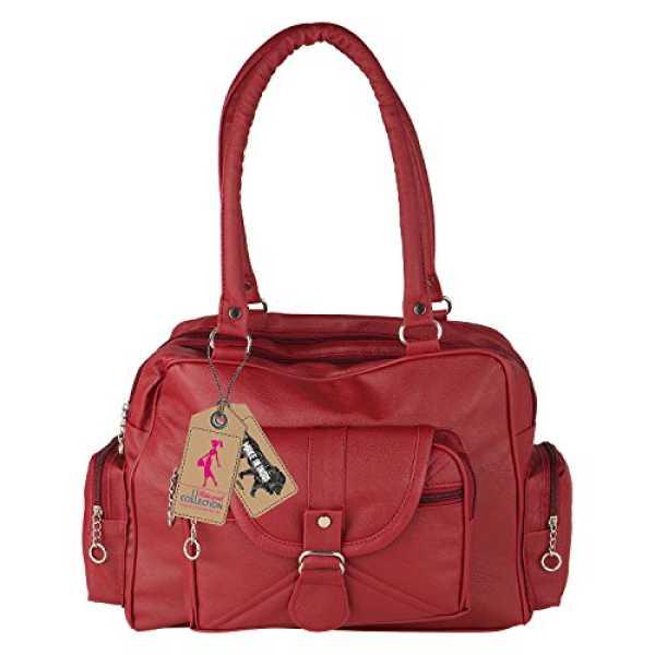 Ritupal Collection Women's Shoulder Handbag Amazing Maroon