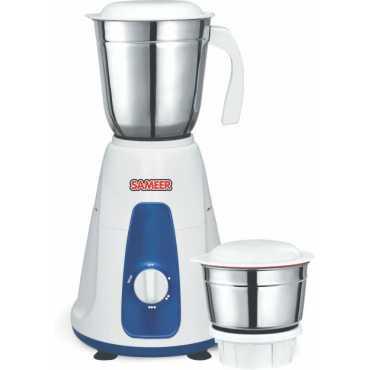 Sameer i-Flo Crest 550W Mixer Grinder (2 Jars) - White