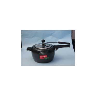 Prestige Apple Duo Aluminium 5 L Pressure Cooker (Induction Bottom, Inner Lid)