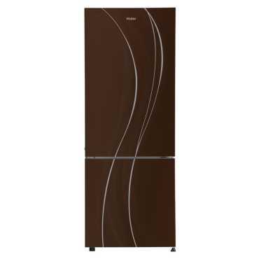 Haier HRB-3654PCG-R 3 Star 345L Double Door Refrigerator - Brown