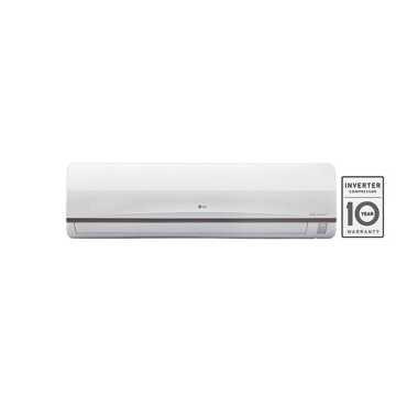 LG JS-Q18SUXD2 1.5 Ton 3 Star Inverter Split Air Conditioner - White