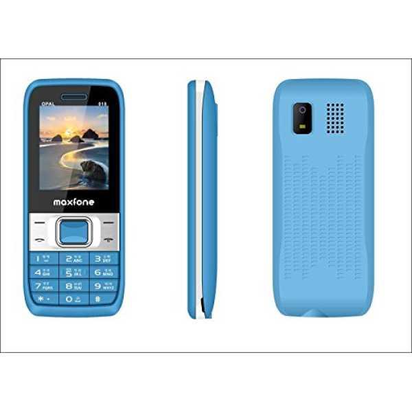 Maxfone Model O18  - Blue & White