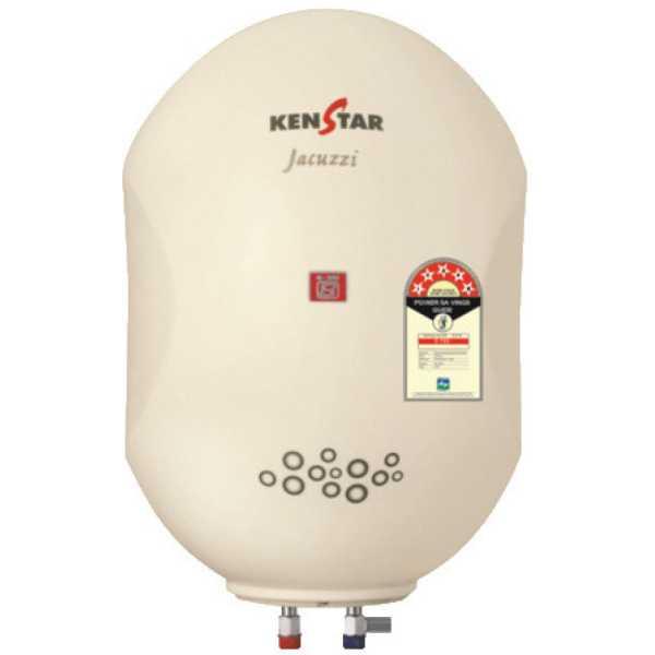 Kenstar Jacuzzi KGS10W5P 10 Ltr Storage Water Geyser - White