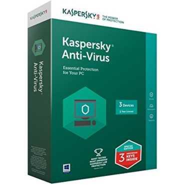 Kaspersky Antivirus 2017 3 PC 1 Year Antivirus
