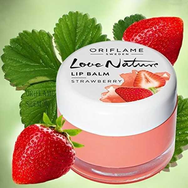 Oriflame Love Nature Lip Balm (Strawberry)