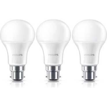 Philips Stellar Bright 9W B22 LED Bulb Yellow Pack of 3