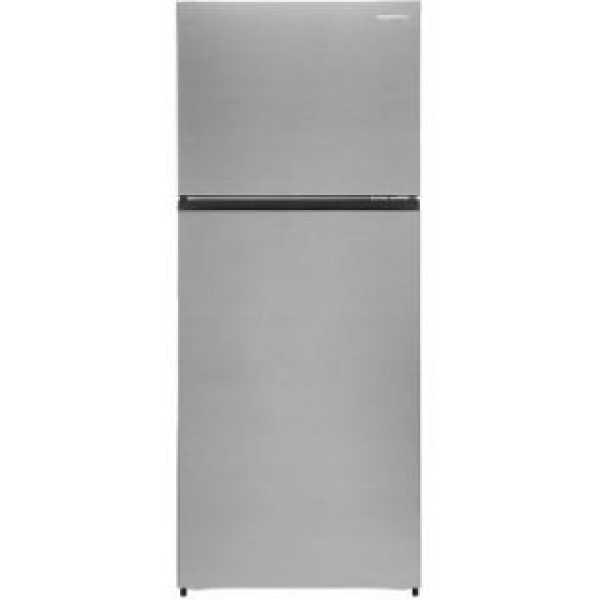 AmazonBasics AB2019RF007 411 L 2 Star Inverter Frost Free Double Door Refrigerator