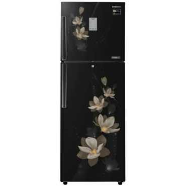 Samsung RT30N3983B7-HL/NL 275 L 3 Star Inverter Frost Free Double Door Refrigerator (Magnolia) - Black