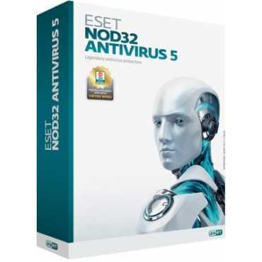 Eset NOD32 Version 5 1 PC 1 Year AntiVirus