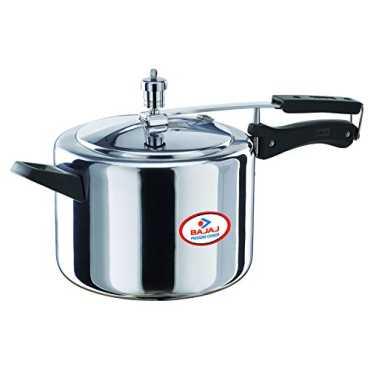 Bajaj Majesty PCX 35 Aluminium 5 L Pressure Cooker (Inner Lid) - Silver