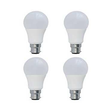 Syska 9W LED Bulbs (White, Pack of 4) - White