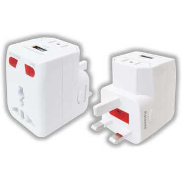 MX 2988 USB Travel Adaptor - White